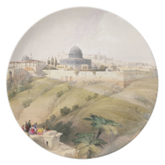 Jerusalem, April 9th 1839, plate 16 from Volume I