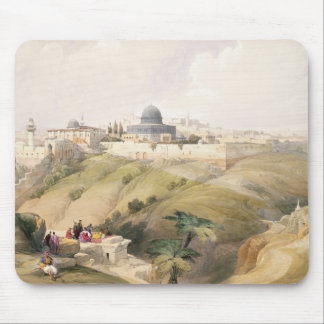 Jerusalem, April 9th 1839, plate 16 from Volume I Mouse Pad