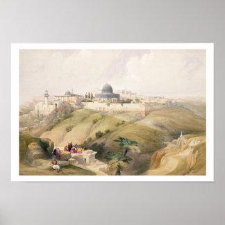 Jerusalem, April 9th 1839, plate 16 from Volume I Poster