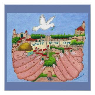 Jerusalem Art Poster