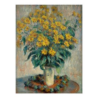 Jerusalem Artichoke Flowers, 1880 (oil on canvas)