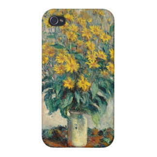 Jerusalem Artichoke Flowers, 1880 (oil on canvas) Cover For iPhone 4