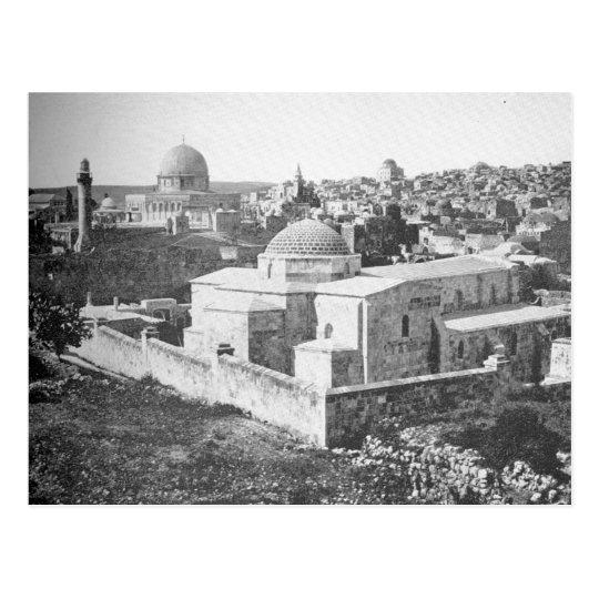 Jerusalem as it appeared ca. 1891. postcard