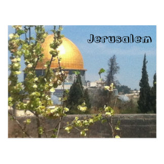 Jerusalem Beautiful PostCard