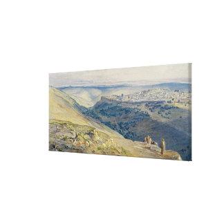 Jerusalem Canvas Prints