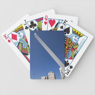 Jerusalem Chords Bridge Bicycle Playing Cards