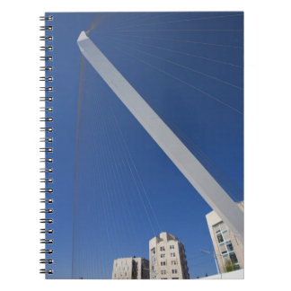 Jerusalem Chords Bridge Spiral Notebook