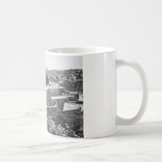 Jerusalem, circa 1891 basic white mug