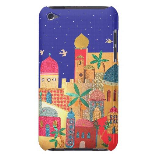 Jerusalem City Colorful Art Barely There iPod Case