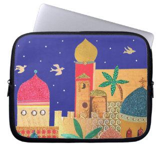 Jerusalem City Colorful Art Laptop Sleeve