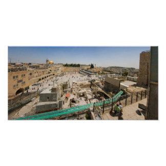 Jerusalem City of Gold Poster