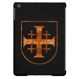 Jerusalem Cross, Distressed iPad Air Case