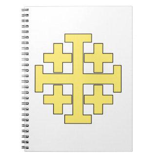 Jerusalem Cross Notebook