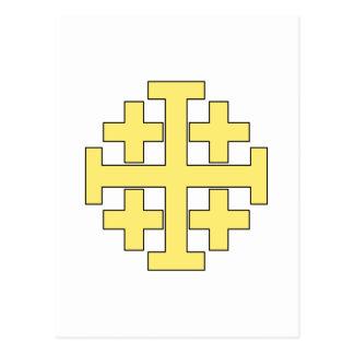 Jerusalem Cross Postcard