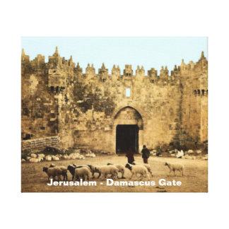 Jerusalem - Damascus Gate Canvas Prints