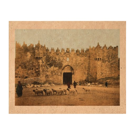 Jerusalem - Damascus Gate Cork Paper