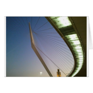 Jerusalem David's Harp Bridge Card