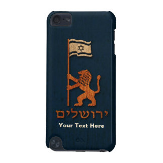 Jerusalem Day Lion With Flag iPod Touch (5th Generation) Cover