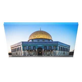 Jerusalem - Dome of the Rock Gallery Wrapped Canvas