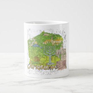 Jerusalem Extra Large Mugs