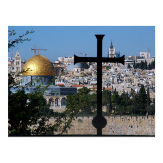 Jerusalem for Christians Postcard