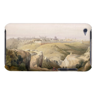 Jerusalem from the Mount of Olives, April 8th 1839 iPod Touch Cover