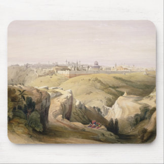 Jerusalem from the Mount of Olives, April 8th 1839 Mouse Mat