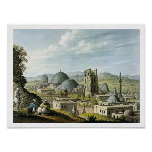 Jerusalem from the West, pub. by William Watts, 18 Posters