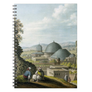 Jerusalem from the West, pub. by William Watts, 18 Spiral Notebook