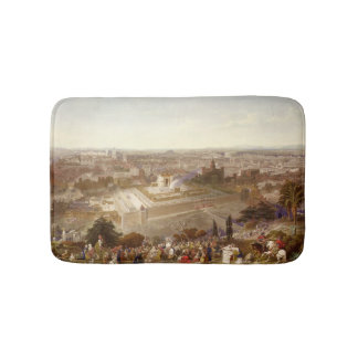Jerusalem in her Grandeur, engraved by Charles Mot Bath Mats