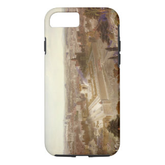 Jerusalem in her Grandeur, engraved by Charles Mot iPhone 7 Case