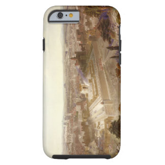 Jerusalem in her Grandeur, engraved by Charles Mot Tough iPhone 6 Case