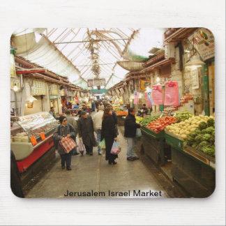 Jerusalem Israel Market Mouse Pads