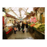 Jerusalem Israel Market Postcard