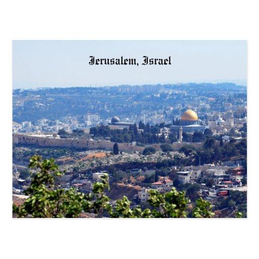 Jerusalem, Israel Post Card
