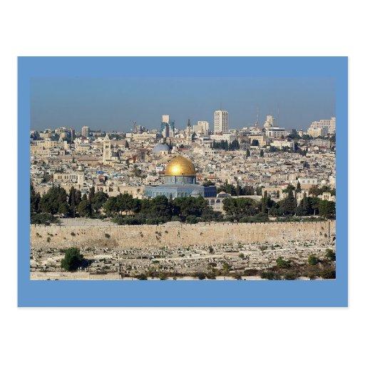 Jerusalem Israel Postcard