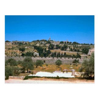 Jerusalem, looking  towards Mount Zion Postcard