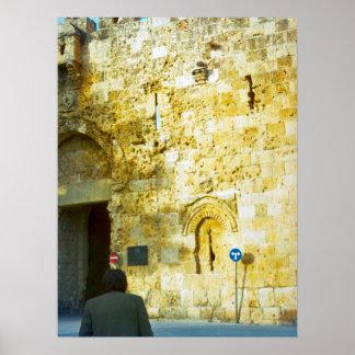 Jerusalem, Mount Zion Poster