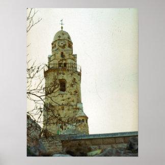 Jerusalem, Mount Zion Print