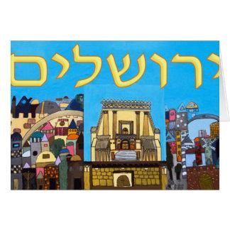 Jerusalem Note Card