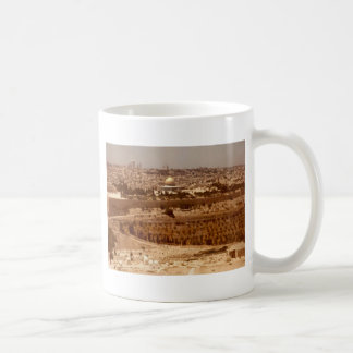 Jerusalem of Gold Basic White Mug