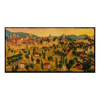 Jerusalem of Gold, Jonathan Kis-Lev Poster