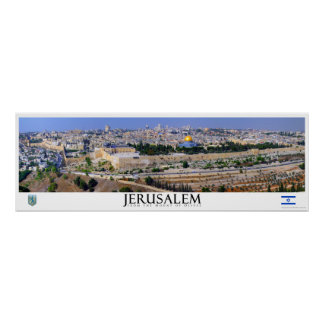 Jerusalem Panoramic Poster