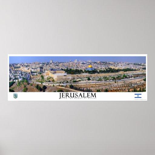 Jerusalem Panoramic Poster