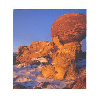Jerusalem Rocks in Winter near Sweetgrass Notepad