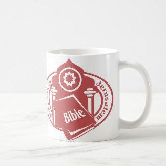 Jerusalem Stamp Coffee Mug
