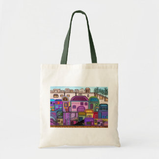 Jerusalem Tapestry Canvas Tote Budget Tote Bag