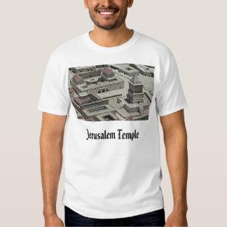 Jerusalem Temple, Jerusalem Temple Tee Shirts