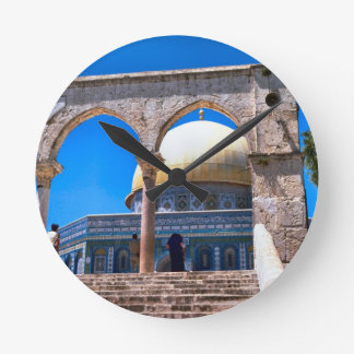 Jerusalem the Dome of the Rock Round Clocks