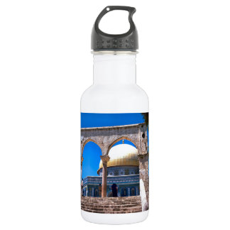 Jerusalem, the Dome of the Rock 532 Ml Water Bottle
